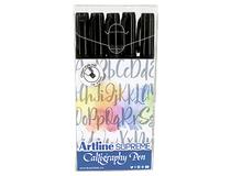Kalligrafipenna Artline Supreme svart 5st/fp