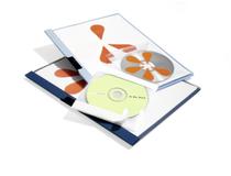 CD-fickor självhäftande 10st/fp