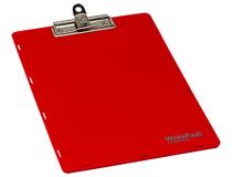 Skrivplatta A4 enkel röd