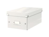 Förvaringsbox Click & Store DVD vit