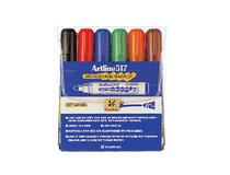 WB-penna Artline 517 6st/set