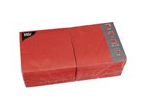 Servett 33x33 3-lag röd 4x250st/fp