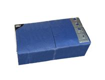 Servett 33x33 3-lag mörkblå 250st/fp