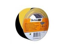 Varningstejp gul/svart 50mmx33m