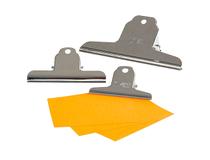 Pappersklämma metall 102mm