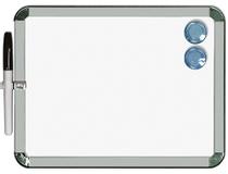 WB-tavla magnetisk 25x28cm vit