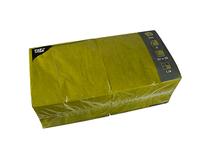 Servett 33x33 3-lag oliv 250st/fp