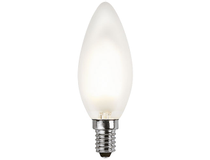 Päronlampa LED E14 2700K 1,3W