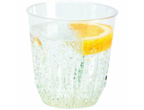 Plastglas hårdplast 26cl 30st/rör