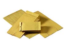 Provsäck brun 150x325mm 250st/kartong
