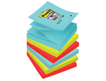 Z-block Post-it SS 76x76mm Miami 6st/fp