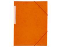 Snoddmapp A4 3-klaff orange