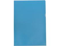 Mapp A4 PP 0,12 blå 10st/fp