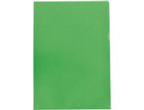 Mapp A4 PP 0,12 grön 10st/fp