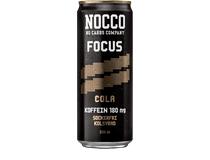 Nocco Focus Cola 330ml 24st/fp