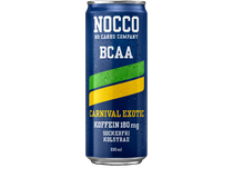 Nocco BCAA Carnival Exotic 330ml 24st/fp