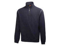 Sweatshirt Helly Hansen Oxford HalfZip marinblå strl 2XL
