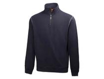 Sweatshirt Helly Hansen Oxford HalfZip marinblå strl L