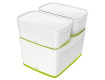 Förvaringslåda MyBox Medium grön 4st/fp