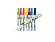 Märkpenna Artline Glassboard ljusblå 12st/fp