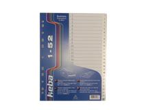 Pärmregister Keba PP A4 1-52 transparent 3st/fp