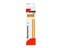 Blyertspenna HB gul 12st/fp