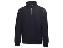 Sweatshirt Helly Hansen Oxford HalfZip svart strl S