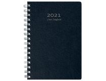 Liten Dagbok miljökartong svart 2021