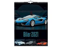 Väggkalender Bilar 2021
