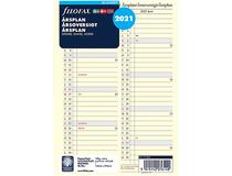 Filofax A5 Årsplan refill 2021