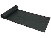 Sopsäck LDPE 125l 0,04mm svart 25st/fp
