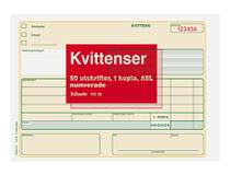 Kvittens A5L 2x50 blad