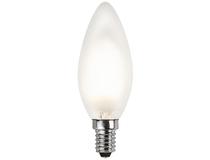 LED-lampa frostad kron 1,5W E14
