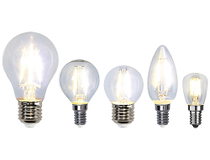 LED-lampa klar normal 7,5W E27