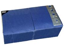 Servett 40x40cm 3-lags mörkblå 250st/fp