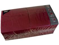 Servett 40x40cm 3-lags vinröd 250st/fp