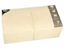 Servett 40x40cm 3-lags creme 4x250st/fp