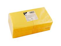 Servett 25x25cm 3-lag gul 250st/fp