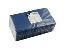 Servett 25x25cm 3-lag mörkblå 250st/fp