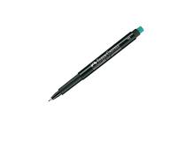 OH-penna/märkpenna Faber-Castell Multimark 1513 F gul 10st/fp