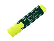 Överstrykningspenna Faber-Castell gul 10st/fp