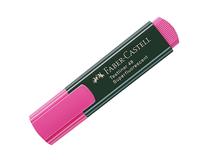 Överstrykningspenna Faber-Castell rosa 10st/fp