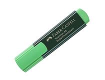 Överstrykningspenna Faber-Castell grön 10st/fp