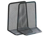Bokstöd svart mesh 2-pack