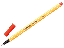 Fiberpenna Stabilo 88 0,4mm röd 10st/fp