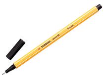 Fiberpenna Stabilo 88 0,4mm svart 10st/fp