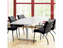 Konferensbord 420x120 björk/silver