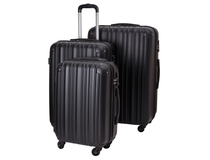 Resväskor set 3 strl Timing Globetrotter svart