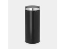 Soptunna Brabantia Touch Bin 30l matt svart