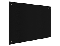 Glastavla Nobo Diamond 126x71cm svart